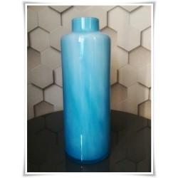Wazonik butelka szkło kolorowe H-36