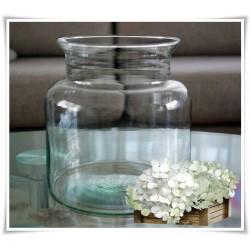 Słój szklany dekoracyjny W-332A H-20 cm D-19 cm / szkło ekologiczne - 1