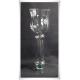 Szklany kielich świecznik S-7 na wysokiej nodze 33cm