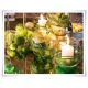 Wazon, świecznik, eko-szkło, kula fi-15cm