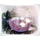 Wazon szklana kula, świecznik w kształcie kuli z eko-szkła 20 cm - 5