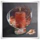 Wazon kula szklana, świecznik z eko-szkła, naczynie do candy bar 20cm - 4