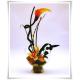 Wazon kula szklana, świecznik z eko-szkła, naczynie do candy bar 20cm - 6