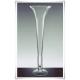 Szklany kielich, wazon stożek W-139 H-40 cm / szkło ekologiczne - 4