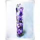 Tuba szklana, wazon cylindryczny H-40 cm D-8,5 cm / szkło ekologiczne - 5