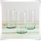 Tuba szklana, wazon cylindryczny H-20 cm D-12,5 cm / szkło ekologiczne - 8