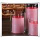 Wazon, cylinder, walec, tuba eko-szkło H-20 D-15