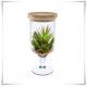 Kielich, wazon, świecznik eko-szkło W-118 H-28 z korkiem