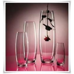 Wazon szklany wysoki OGÓREK H-70 cm D-19 cm