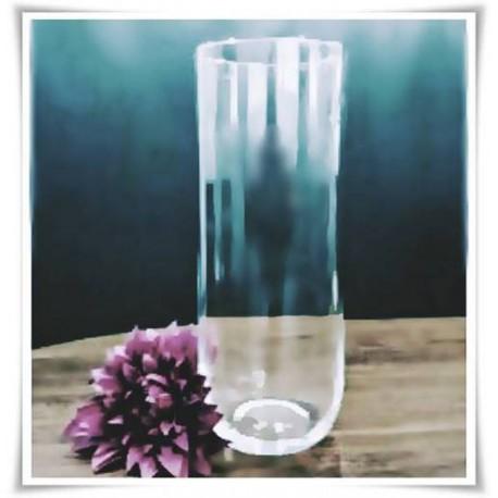 Wazon szklany cylinder ROUND BOTOM H-40 cm D-14 cm - 1