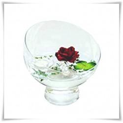 Flakon szklana kula WD-17 H-20 cm / szkło ekologiczne