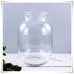 Szklany słój dekoracyjny, ozdobne terrarium na las w szkle 24 cm - 1
