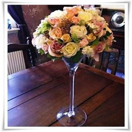 Kielich świecznik wazon Martini 40cm