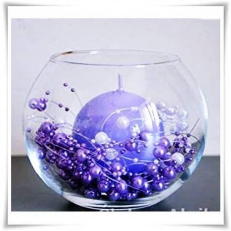 Szklana kula dekoracyjna D-15 cm H-11,5 cm - 1