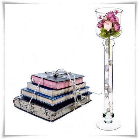 Kielich, świecznik, wazon szklany S-7 50 cm