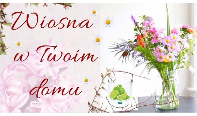 Szklane dekoracje na wiosnę w Twoim domu